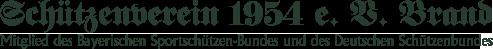 Schützenverein 1954 e. V. Brand